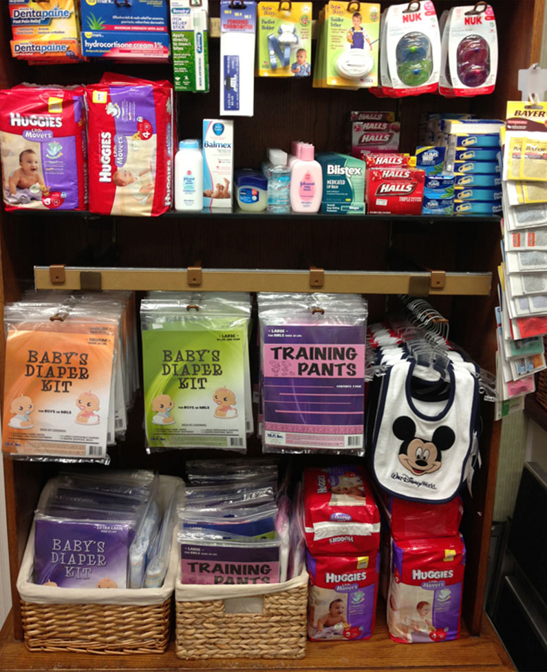 Alguns dos produtos que podem salvar seu dia no parque.