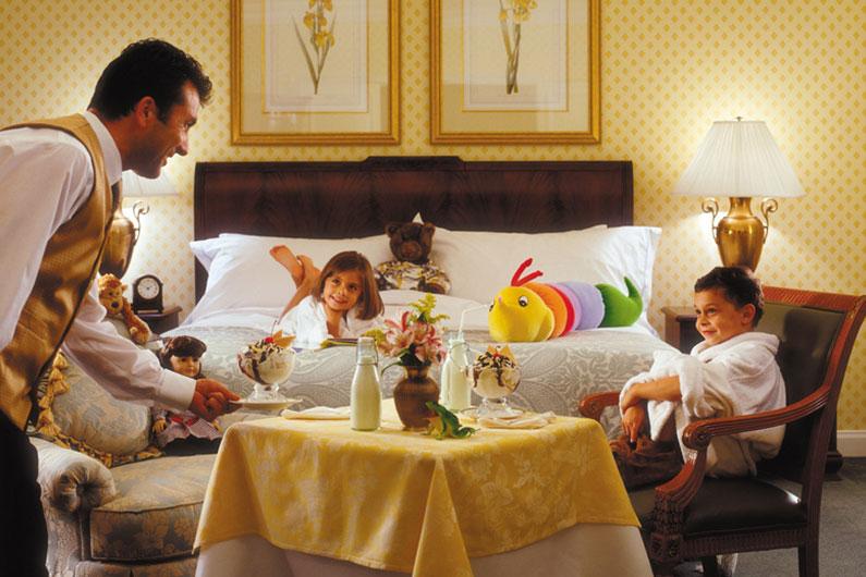 como escolher hotel em orlando com crianças